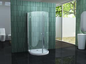 Duschkabine Circus Glas Dusche Duschabtrennung U-Form Halbkreis Duschwand