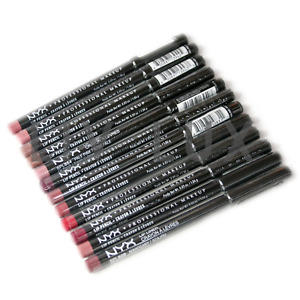 NYX Professional Slim Lip Liner Pencil - Choose Shade