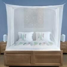 Poly Cotton Double King/Queen Size Mosquito Net (White 8x8 feet) KU