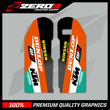 KTM SX SXF 2000 - 2007 EXC 1998 - 2007  LOWER FORK DECAL MX GRAPHICS STICKER -TI