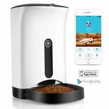 Automatic Pet Feeder for Cat Dog iOS Android App Wifi Cam (NEW IN OPEN BOX)