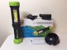 """Monster 11"""" Rubberized Rechargeable LED Work Light Flashlight MST97192 2112-21"""