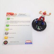 Heroclix Avengers set Piledriver #013 Common figure w/card!