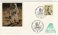 Germany 1969 Munich cancel Space Man on Moon stamps cover ref 21761