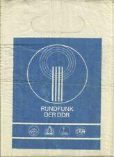 Rundfunk Der DDR Radio bag, former East Germany 1980's