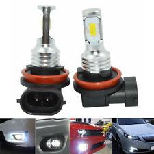 2x H11 LED Fog Light H9 H8 H16 Headlight Bulbs 3570 CSP-Chips White 6000K 35W