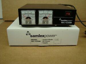 SAMLEX SEC-1235M 30 AMP DC POWER SUPPLY FOR YAESU ICOM KENWOOD ALINCO