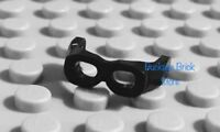 NEW Lego Minifig BLACK Minifigure Helmet GOGGLES Glasses Headgear