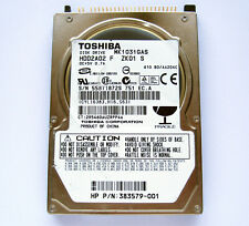 "2,5"" IDE 100GB Toshiba MK1031GAS HDD Notebookfestplatte HDD2A02"