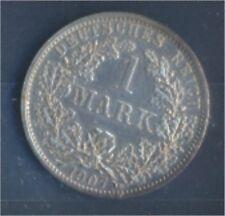 alemán Imperio Jägernr: 17 1907 Un Flor di cuño Plata 1907 1 marcos gran(7859341