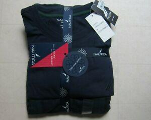 Nautica Sleepwear Pajama T-Shirt For Men Navy/Green Sz M - NWT $65