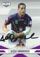 ✺Signed✺ 2013 MELBOURNE STORM NRL Card JESSE BROMWICH