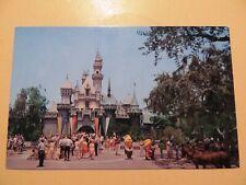 Disneyland Anaheim California vintage postcard Sleeping Beauty Castle