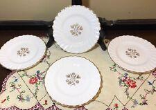 """4 Royal Doulton England Napier 6 1/4"""" Bread Plates"""