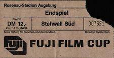 Ticket Fuji-Cup-Finale 15.07.1988 FC Bayern München - Borussia Mönchengladbach