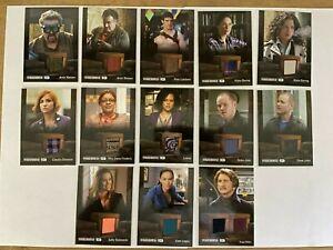 Rittenhouse Warehouse 13 Season 4 - Relic Costume card you pick