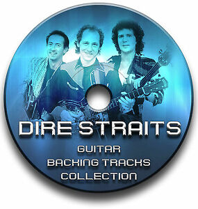 DIRE STRAITS ROCK STYLE GUITAR MP3 BACKING TRACKS CD ANTHOLOGY COLLECTION