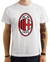 T Shirt Maglietta Milan Scudetto Maglia calcio logo sport personalizzabile