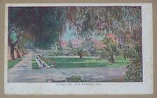 POSTCARD, FIGUROA STREET, LOS ANGELES, CALIFORNIA, AD CALIFORNIA FRUIT PRODUCTS