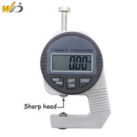 Portable Precise Digital Thickness Gauge Meter Tester Micrometer 0 to 12.7 mm