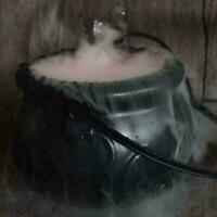 Cauldron Halloween Mister Mist Smoke Fog Machine Color Prop Best V8L8 M1C4