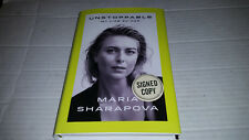 Unstoppable : My Life So Far by Maria Sharapova (2017, Hardcover) SIGNED 1st/1st