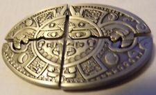 2010 Geocoin Aztec Puzzle Moon Coin 4-Piece Set