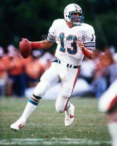 NFL Miami Dolphins QB Dan Marino Game Action Color 8 X 10 Photo Pic