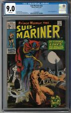 CGC 9.0 SUB-MARINER #22 GREAT DOCTOR STRANGE COVER 1970 MARVEL WHITE PAGES