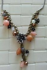 NWT Fossil Brand  Necklace Flower Beads