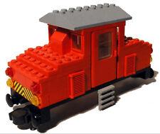 Lego® Eisenbahn 4,5V Lokaufsatz Diesellok aus 7720 Trains Türen Tür Aufkleber