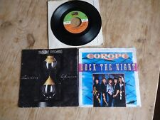 "Lot of 3 soft rock 7""s Europe EX Mike & The Mechanics VG Yes VG+ Rock The Night"
