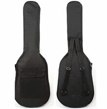 Double Straps Padded Gig Bag Case For Electric Bass Acoustic or Classical Guitar