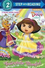 Fairytale Magic (Dora the Explorer) (Step into Reading)-ExLibrary