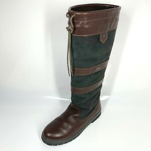 Dubarry Galway Country Boots UK7 EU41 Brown Black Unisex (1349 SRB)