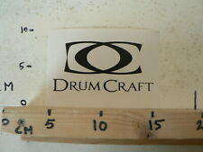 STICKER,DECAL DC DRUM CRAFT   DRUMS & PERCUSSION ?