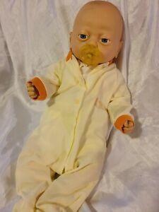 "Vintage 1988 Emson Anatomicaly Correct 20"" Infant Doll, Male"