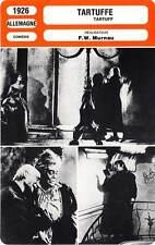 FICHE CINEMA : TARTUFFE - Picha,Valetti,Jannings,Murnau 1926
