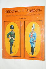 Pre Ww1 German Lancers And Dragoons 1900-1914 Reference Book