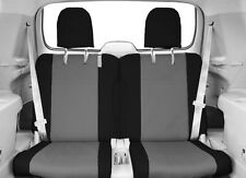 Seat Cover Rear Custom Tailored Seat Covers fits 08-13 Toyota Highlander