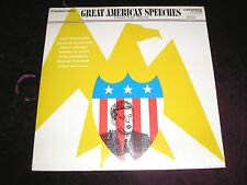GREAT AMERICAN SPEECHES VOL 4 1950-63 2LP Caedmon TC 2035 SEALED Mint Vinyl