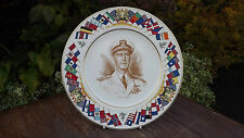 More details for admiral king world war 2 plate usa allied nations commemorative series