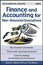 Finance and Accounting for Non-Financial Managers by Samuel C. Weaver, J. Fred W
