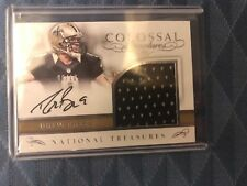 2016 National Treasures Drew Brees Signature autograph and jersey 6 of 10