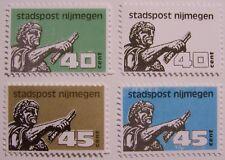 Stadspost Nijmegen 1987 - 4 zegels Keizer Traianus