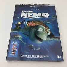 Finding Nemo 2 Disc Collectors Edition Disney Pixar Dvd 2003