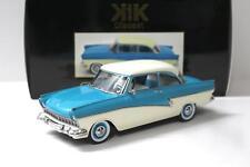 1:18 KK-Scale Ford Taunus 17M P2 1957 turquoise blue/ white