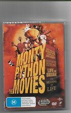 monty python   4 movie box set    dvd  z4 brand new sealed free postage