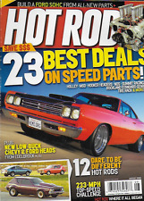Hot Rod magazine Best deals on speed car parts Low buck Chevy and Ford Challenge