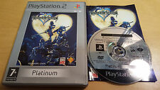 DISNEY KINGDOM HEARTS PLATINUM for SONY PS2 PLAYSTATION 2 COMPLETE Square Enix